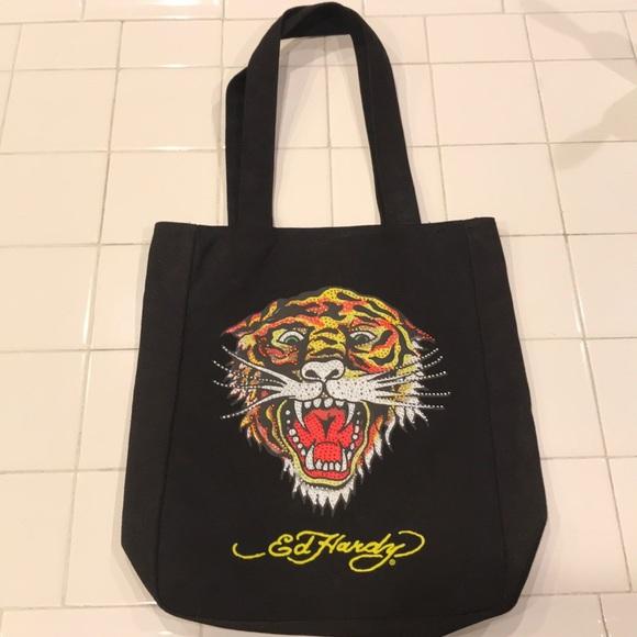 Ed hardy tote bag